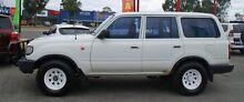 1996 Toyota Landcruiser HZJ80R Standard White 5 Speed Manual Wagon Bellevue Swan Area Preview