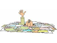 ARE YOU DROWNING IN PAPERWORK? Administration/Virtual PA services