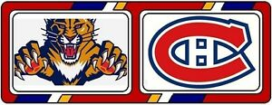 2 Billets Canadiens vs Floride 15 Nov 2016