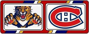 2 Billets  Floride vs Canadiens  15 nov 2016