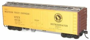 NIB-HO-Accurail-8505-40-Steel-Reefer-GN-Western-Fruit-Express-Kit