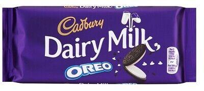 Cadbury Dairy Milk Chocolate Oreo Bar 120g x 17 (232185) Cream Filled Cookie
