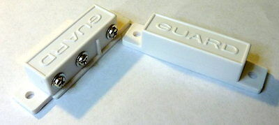White N.o.n.c. Magnetic Reed Switch Spdt Normally Open Normally Closed