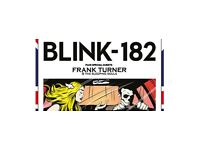 2 x blink 182 standing tickets. 20 July, London