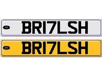 Numberplate for sale 2017 - BR17LSH (BRITISH)
