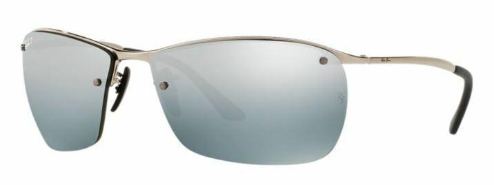 Ray-Ban Herren Sonnenbrille RB3544 003/5L Polarisiert CHROMANCE Gr 64 BS B3 H