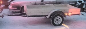4x8 Utility Trailer - Just Been Totally Redone!