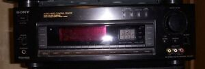 STR-D915 5.1-channel A/V receiver / SONY CDP-C345 5 DISC CD