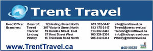 Black Friday SUPER DEAL - TRENT TRAVEL Peterborough Peterborough Area image 4