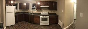 Ground level apartment