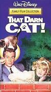 That Darn Cat VHS