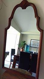 Mirror old with timber frame Kiama Kiama Area Preview