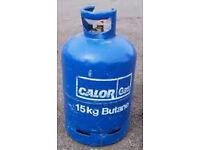 Calor Gas Butane Bottle - 15Kg 1/4 full