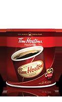 CAFÉ & CAFETIÈRE TIM HORTONS 25% OFF