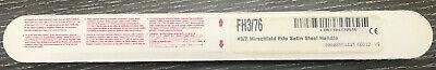 Hu-friedy Fh37 Hirschfeld File Scaler. 6 Handle Free Shipping Wbin