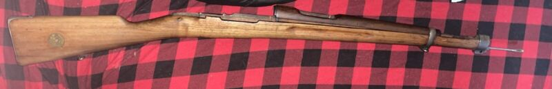 "Swedish Mauser Rifle Stock-Great Condition-43"" from butt to tip."
