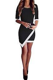 **BRAND NEW** Women Asymmetric Bandage Dress