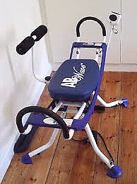 Ab wave exercise equipment