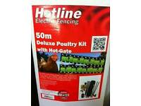 50m Poultry Electric Fencing