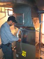 Free WiFi Thermostat With High Efficient Furnace Installation