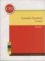 Are you studying for Canadian Securities Course?