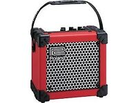 ROLAND MICRO CUBE AMP in Red - mint condition