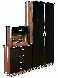 Amazing Furniture -- Bed Room Set Alina 2 Doors Wardrobe In Diff Colors-Fastest Delivery