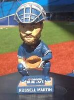 TORONTO BLUE JAYS RUSSELL MARTIN BOBBLEHEAD UNOPENED IN BOX