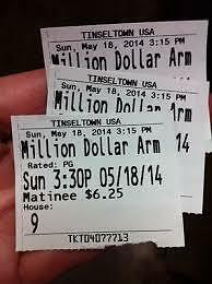 Photos of Movie Ticket Stubs