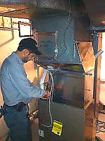 HIGH EFFICENT AIR-CONDITIONER & FURNACE INSTALLED
