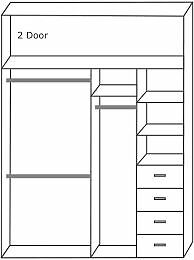 Wardrobes Sliding 2 door with mirrors or laminate doors Installed
