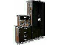 🟦✔️Only One Purpose, Satisfaction🟦✔️Bed Room Set Alina 2 Doors Wardrobe In Diff Colors