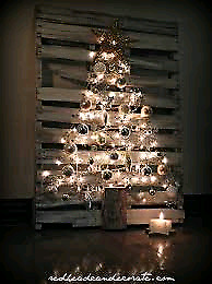 Pallet Christmas Tree Ideas