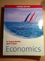 N. Gregory Mankiw Economics second edition (2nd edition) textbookin East End, GlasgowGumtree - N. Gregory Mankiw Economics second edition (2nd edition) textbook for sale. Condition very good (some notes by pencil on margins) Available immediately Delivery method personal / by post (incl. extra charge for postage & envelope)