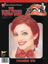 ROCKY HORROR SHOW COLUMBIA FANCY DRESS WIG GREAT FOR CHRISTMAS OR NEW YEARS PARTY