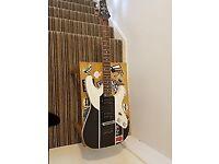 Schecter Blackhawk BC-1 Guitar w/custom Mass Effect Vinyl.