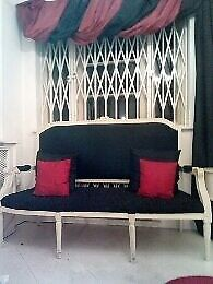 French Louis Style Vintage 3 seater sofa- Hand Carved- Bargain £100