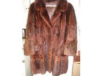 MUSQUASH STROLLER COAT,