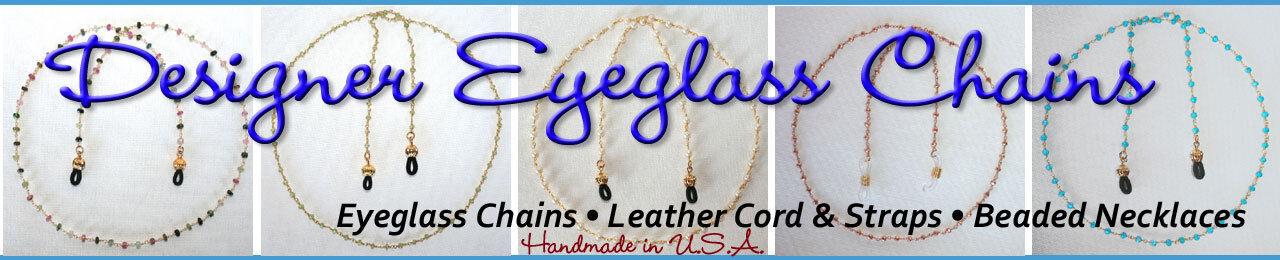 Designer Eyeglass Chains by Sonja