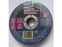 Cutting discs for Masonry (115mm). Brand new. Fits most 115mm Angle Grinders