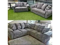 FACTORY PACKED VERONA CORNER SOFA AVAILABLE IN 3+2 SOFA SETS