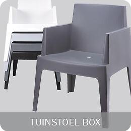 Verbazingwekkend ≥ Tuinstoel Box (10 kleuren) met of zonder Box Kussens AS-88