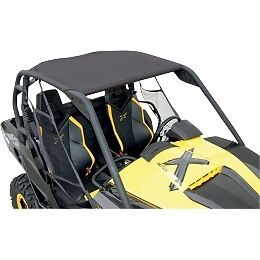 CAN-AM-MAVERICK-BLACK-BIMINI-SOFT-ROOF-TOP-ROLL-CAGE-1000-COMMANDER