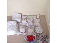 huge collection of washable nappies **save lots of money**