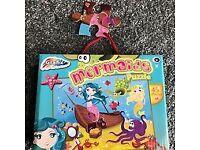Mermaid Puzzle (45 Piece) 3+