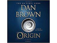 Dan brown - origin - audiobook