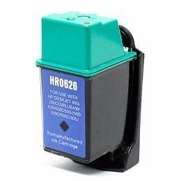 Hp 26 (51626A) Ink Cartridge Black  Remanufactured