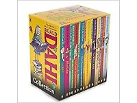 Roald Dahl Collection 15 Books. Just new. Moving to India so want to sell
