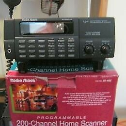 Realistic Scanner VGC, hardly used