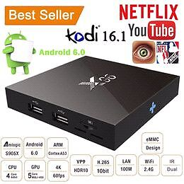 X96 ANDROID BOX with FREE HD LIVE TV AND FULL GUIDE